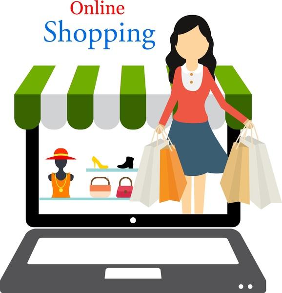 online shopping books