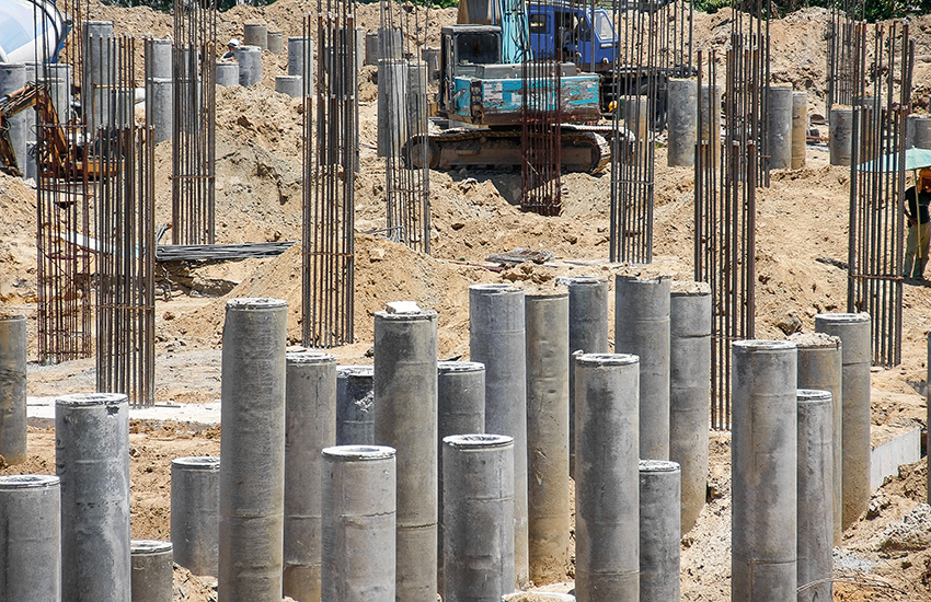 Concrete Pile Construction