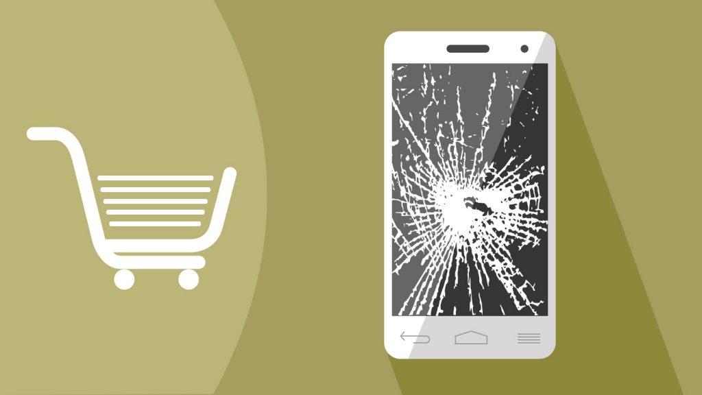 Sell broken LCD screen